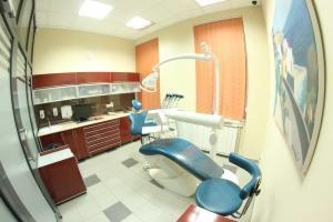 fogorvosi szek a Hegedus Dental rendelojeben