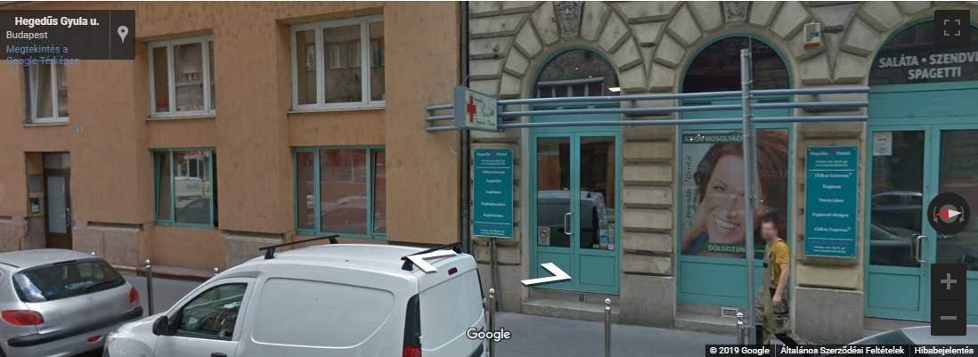 google street view, hegedus dental, fogaszat