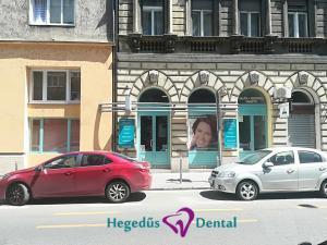 bejarat, Hegedus Gyula utca, Hegedus Dental, utcakep